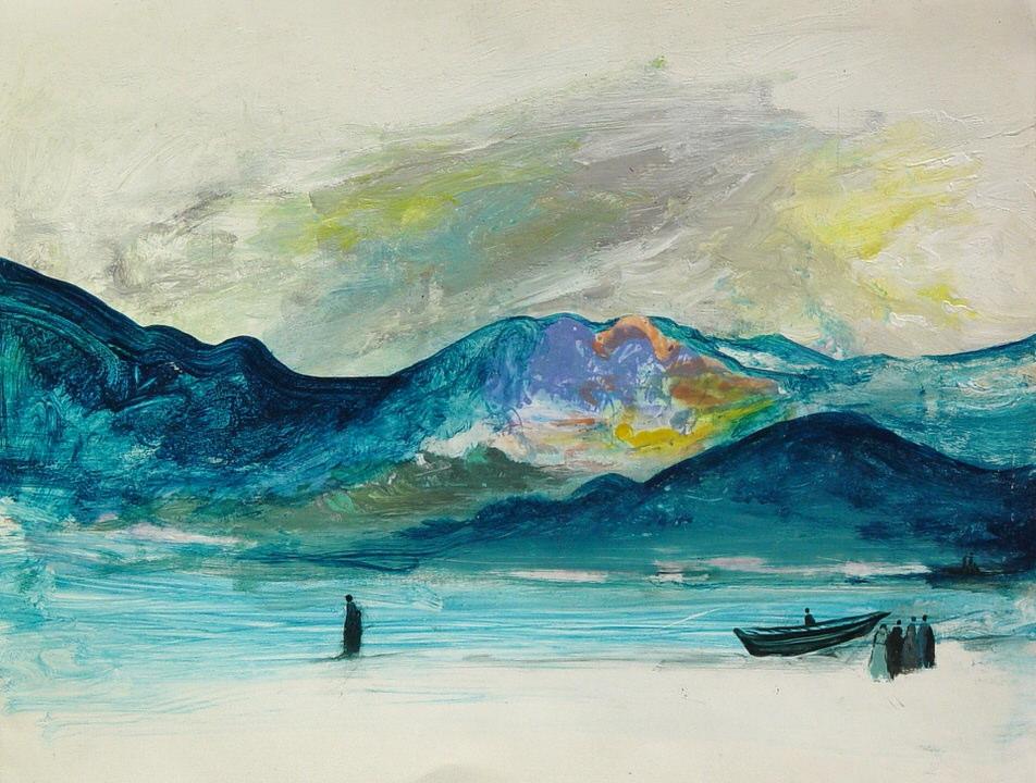 'ON A REMOTE ISLAND'